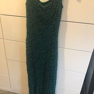 ASOS Emerald Lace Midi tube Dress